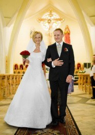Ślub kościelny - Para Młoda